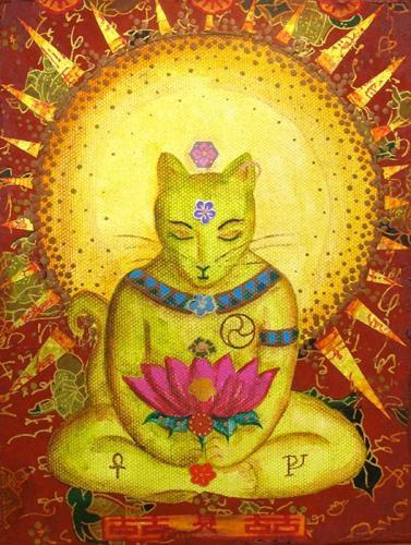 A visão budista dos gatos