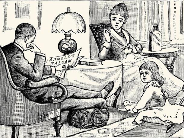 1 – Datado de 1900, este cartaz é, na verdade, uma propaganda médica criada durante a Era Vitoriana. No entanto, ele esconde um segredo – ou melhor, dois. Você consegue encontrar os dois gatos escondidos nele?