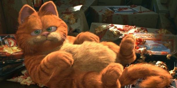 Garfield, do filme que leva o seu nome