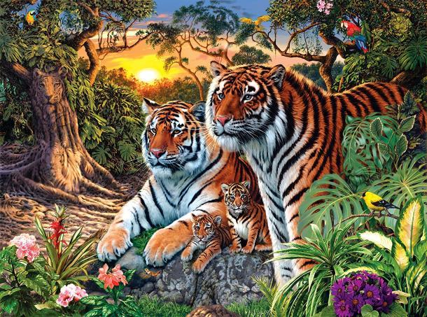 Quantos tigres existem?