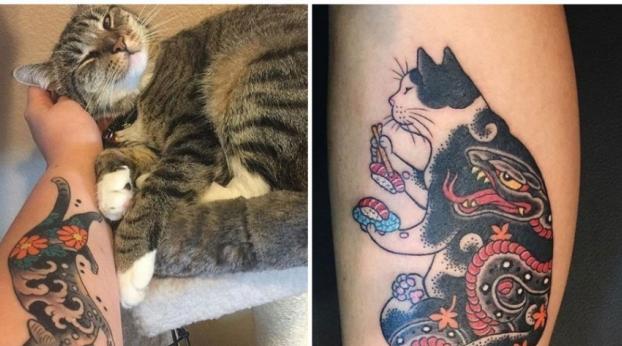Os gatos estão dominando até mesmo as artes. Veja isto e comprove!